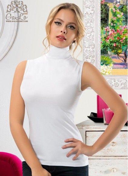 Женская Водолазка Без Рукавов |M,L,XL| anit