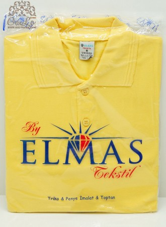 Классическая Рубашка-Поло 100% Cotton (7-8-9) ELMAS