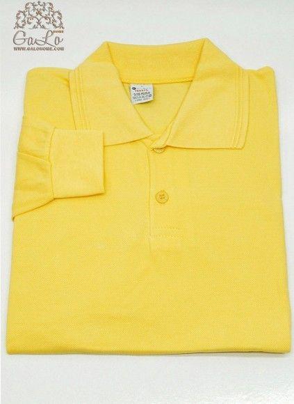 Поло (рубашка) с Длинным рукавом Lacost 100% Cotton (7+8+9) ELMAS