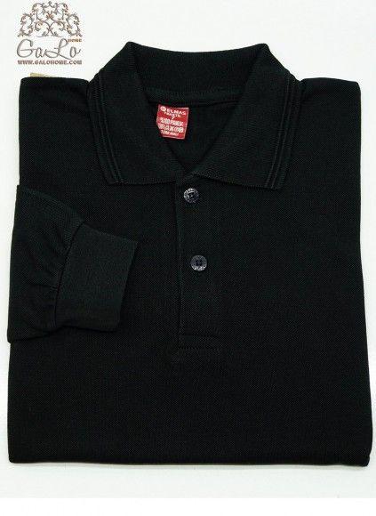 Классическая Рубашка-Поло с длинным рукавом 100% Cotton (7-8-9) ELMAS