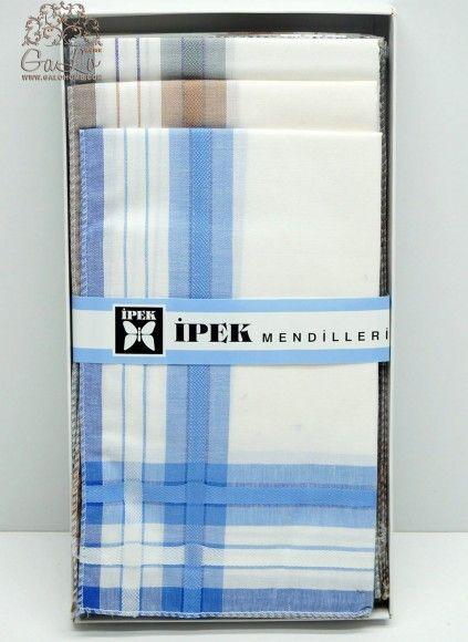 Мужские Носовые Платки 12 шт./уп. 42x42 см. IPEK
