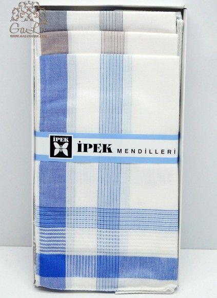 Мужские Носовые Платки 12 шт./уп. 40x40 см. IPEK