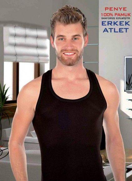 Мужская атлет майка уп.3 шт.(S,M,L,XL,XXL) My-Flex
