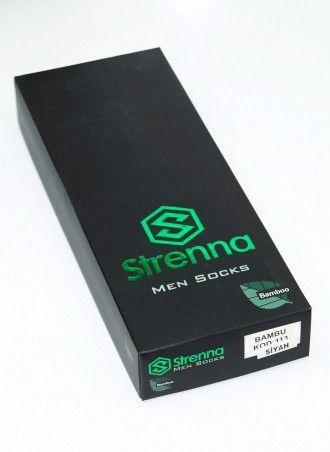 Бамбуковые Летние Мужские Носки (40-44) 6 шт. пар/уп. с запахом парфюма Bamboo - Strenna
