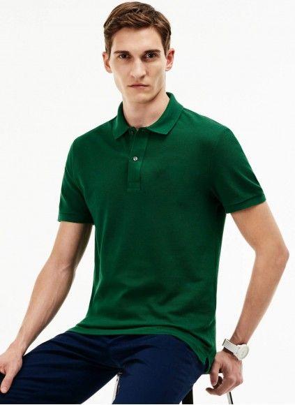 Поло (рубашка) с Коротким рукавом Lacost 100% Cotton (XXL+3XL+4XL) ELMAS