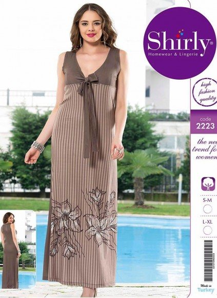 Трикотажное Платье (S/M+S/M+L/XL+L/XL) Shirly