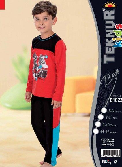 Детская Пижама для Мальчика (5/6+7/8+9/10+11/12) TEKNUR