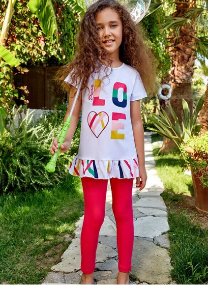 Детский Комплект с Капри Berrak