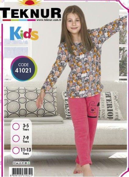 Детская Пижама Wellsoft Polar (3/5+7/9+11/13) TEKNUR 2020