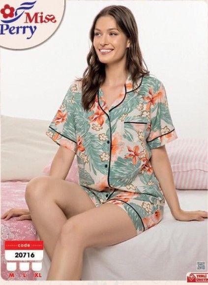 Женский Комплект с Шортами (M,L,XL) Miss Perry