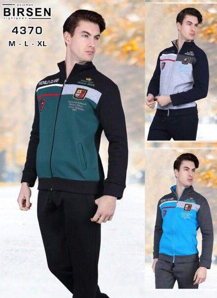 Мужской  Спорт Костюм 9 шт. в уп., 3 цвета (M+L+XL) BIRSEN