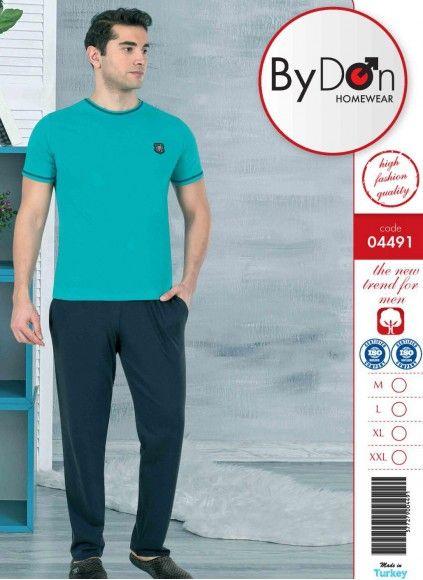 Мужская Пижама Комплект с брюками (M+L+XL+XXL) ByDon 2020
