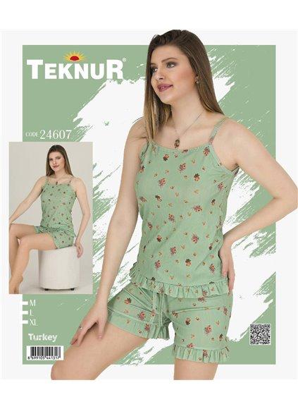 Женский Комплект с Шортами (M+L+XL) Teknur